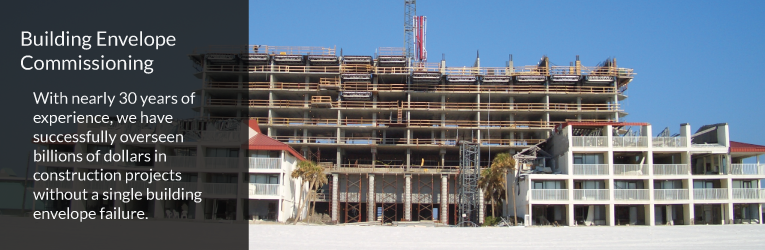Building Envelope Commissioning St. Petersburg Florida
